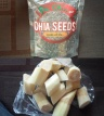 chia seeds and sugarcane superfoods